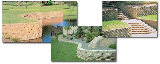 Charmant The Easy, Do It Yourself, Mortarless Wall Products For Your Home. Now You  Too Can Build Attractive, Economical And Professional Looking Landscape  Retaining ...